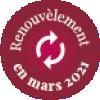 Renouvèlement en mars 2021